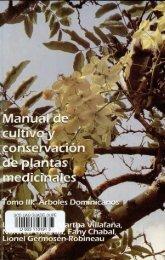 conservación de plantas medicinales - Manioc