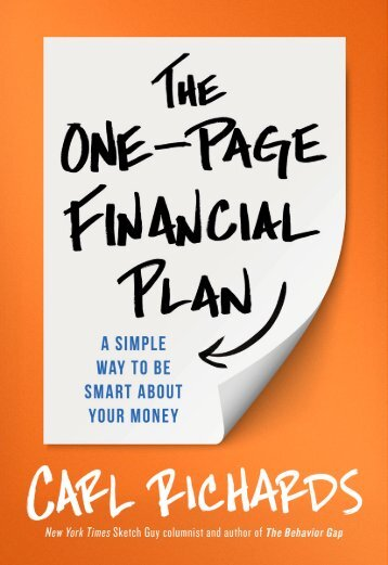 One-Page-Financial-Plan-Chapter-9