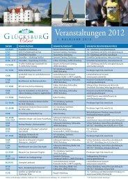 Veranstaltungen 2012 - Kulturfokus