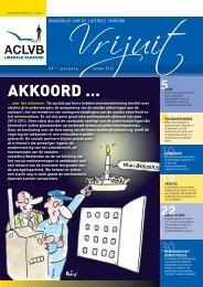 Vrijuit, editie januari 2013 - Aclvb