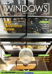 Download our cover story from the Australian Window Associations ...