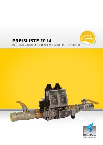 Preisliste 2014 - Küchenabsicherung