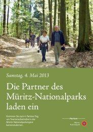 Die Partner des Müritz-Nationalparks laden ein