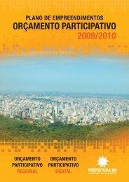 OP 2009/2010 - Prefeitura Municipal de Belo Horizonte