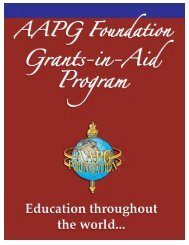 Grants in Aid bro 3sep - the AAPG Foundation