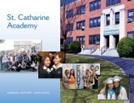 SCA Annual Report 2009-10.pdf - St. Catharine Academy