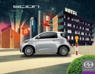 2012 Scion iQ Specifications