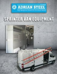 View Sprinter Catalog - Adrian Steel