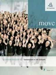 10 Jahre WITTENSTEIN AG – Gemeinsam in die Zukunft