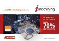 SolidCAM + iMachining Info-Booklet