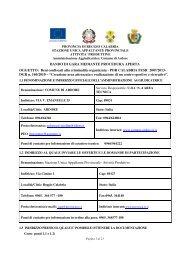 Bando di gara Comune di Ardore.pdf - Provincia di Reggio Calabria