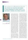 la neuropathie auditive / désynchronisation auditive - Collège ... - Page 6