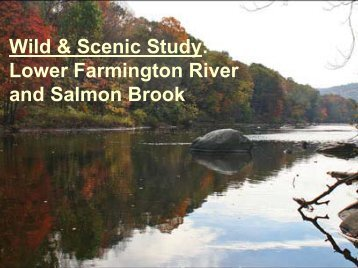 The Farmington River Wild & Scenic - Lower Farmington River ...