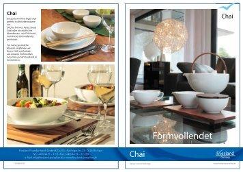 Produktinfos Friesland Chai