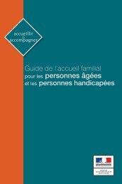 Guide accueil familial - Ministère des Affaires sociales et de la Santé