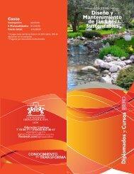 Diseño y Mantenimiento de Jardines Sustentables - Universidad ...