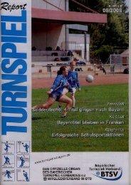 08/2008 - Bayerischer Turnspiel- Verband