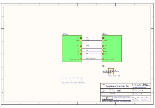 Active 2 45Ghz Proximity RFID Tag schematics - OpenBeacon