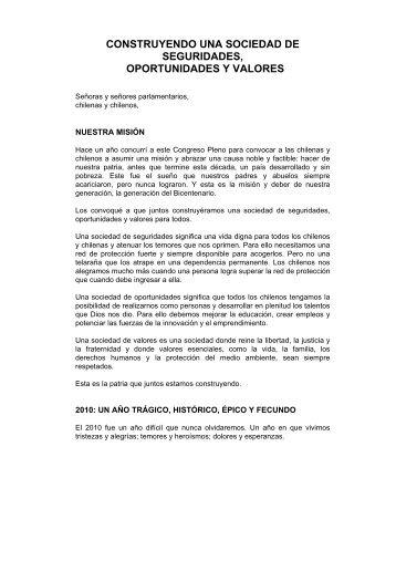 CONSTRUYENDO UNA SOCIEDAD DE SEGURIDADES ...