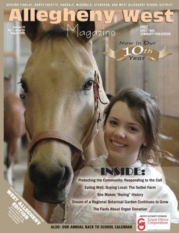 August 2008 - Allegheny West Magazine
