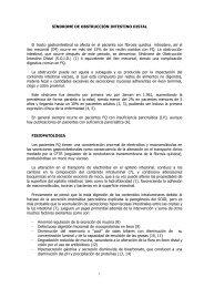 SÍNDROME DE OBSTRUCCIÓN INTESTINO DISTAL