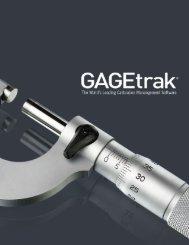 GAGEtrak Calibration Management Software - Directories - Quality