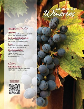 FRIENDS of the Vine Cidery - Yakima Valley Visitors and ...