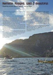 Remote, Rugged, Wild & Beautiful: - New Zealand Kayak Magazine
