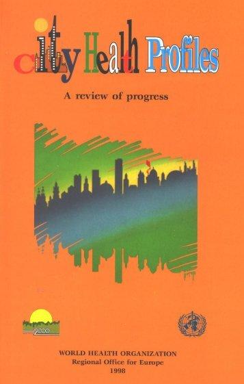 City health profiles - World Health Organization Regional Office for ...