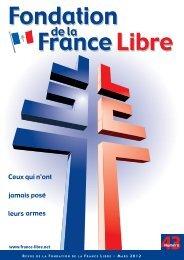 Revue de la Fondation de la France Libre n° 43 - mars 2012