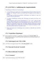 171. § 24 VOL/A - Aufklärung des Angebotsinhalts - Oeffentliche ...