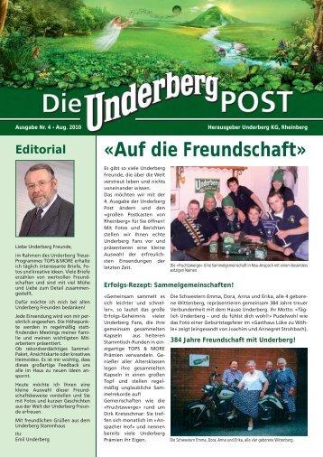 Service-Telefon 0049 - Underberg