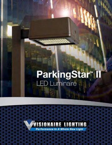 ParkingStar II - Area Brochure - Visionaire Lighting, LLC