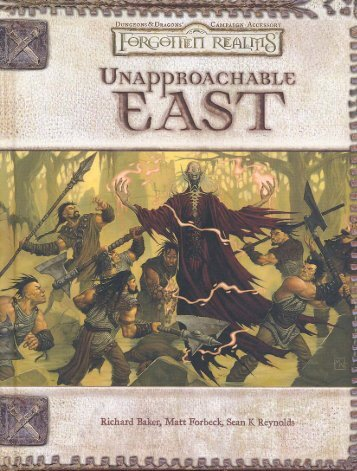 Unapproachable East.pdf - The Forgotten Realms