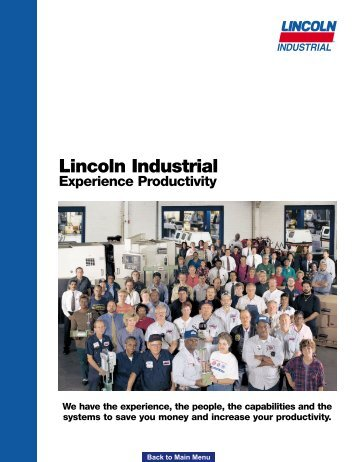 Lincoln Industrial is a subsidiary