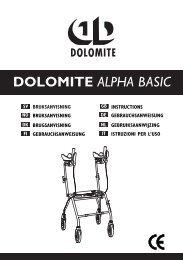 DOLOMITE ALPHA BASIC - Algol-Trehab Oy