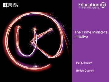 The Prime Minister's Initiative - Engineering Professors' Council
