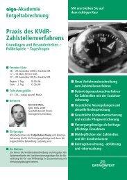 Praxis des KVdR- Zahlstellenverfahrens - DATAKONTEXT