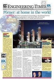 Pörner: at home in the world - Pörner Ingenieurgesellschaft mbH.