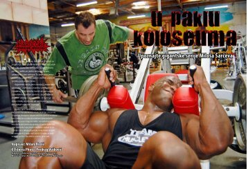 Upoznajte gigantske serije Miloša Šarčeva - ExYu-fitness