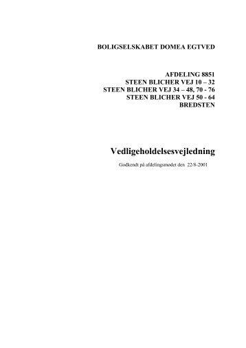 Steen Blicher vej vejledning - Domea