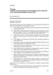 FF 2011 715 - admin.ch