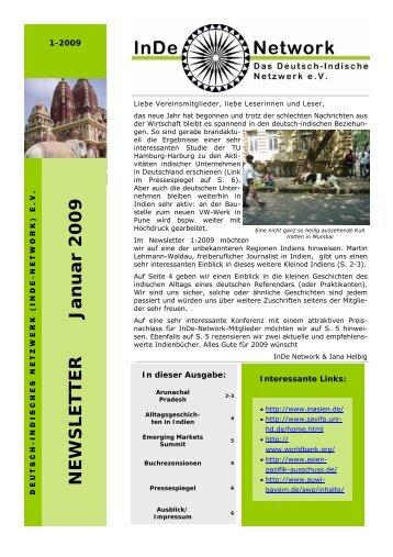 Newsletter 1-2009 (1).pub - InDe-Network e.V.