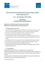 Posterpreise - Standard Operating Procedure - Österreichische ...