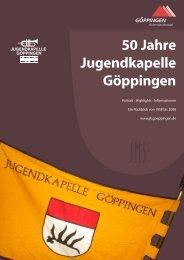Festschrift 50 Jahre Jugendkapelle GP web.pdf - Göppingen