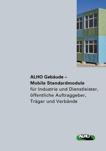 ALHO Gebäude - Alho Systembau GmbH