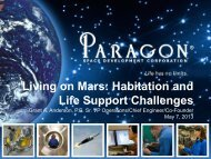 Living on Mars: Habitation and LIfe Support Challenges