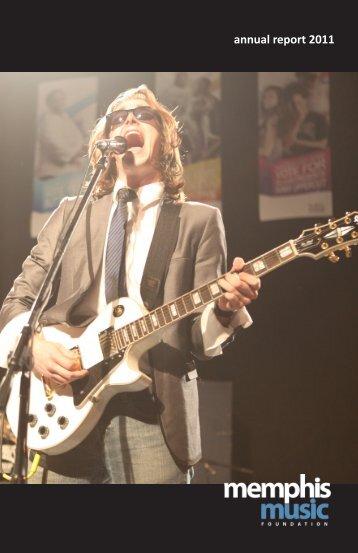 annual report 2011 - Memphis Music Foundation