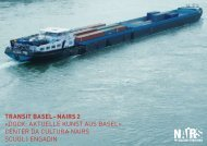 transit basel–nairs 2 «Dock: aktuelle kunst aus Basel» center Da ...