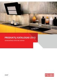 PRODUKTŲ KATALOGAS 2012 - Sidabrinis krioklys